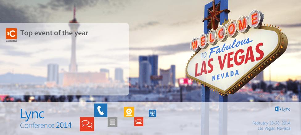 Lync Conference 2014 Las Vegas